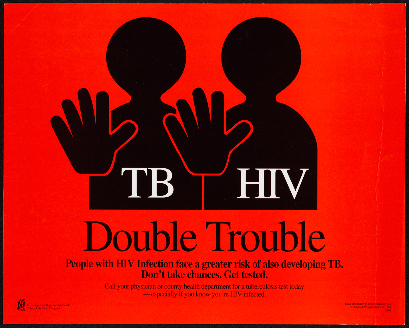 tb hiv Mycobacterium tuberculosis and human immunodeficiency virus are both diseases that plague many developing countries in fact, individuals living with hiv are 12-20 times more likely to develop tuberculosis [].