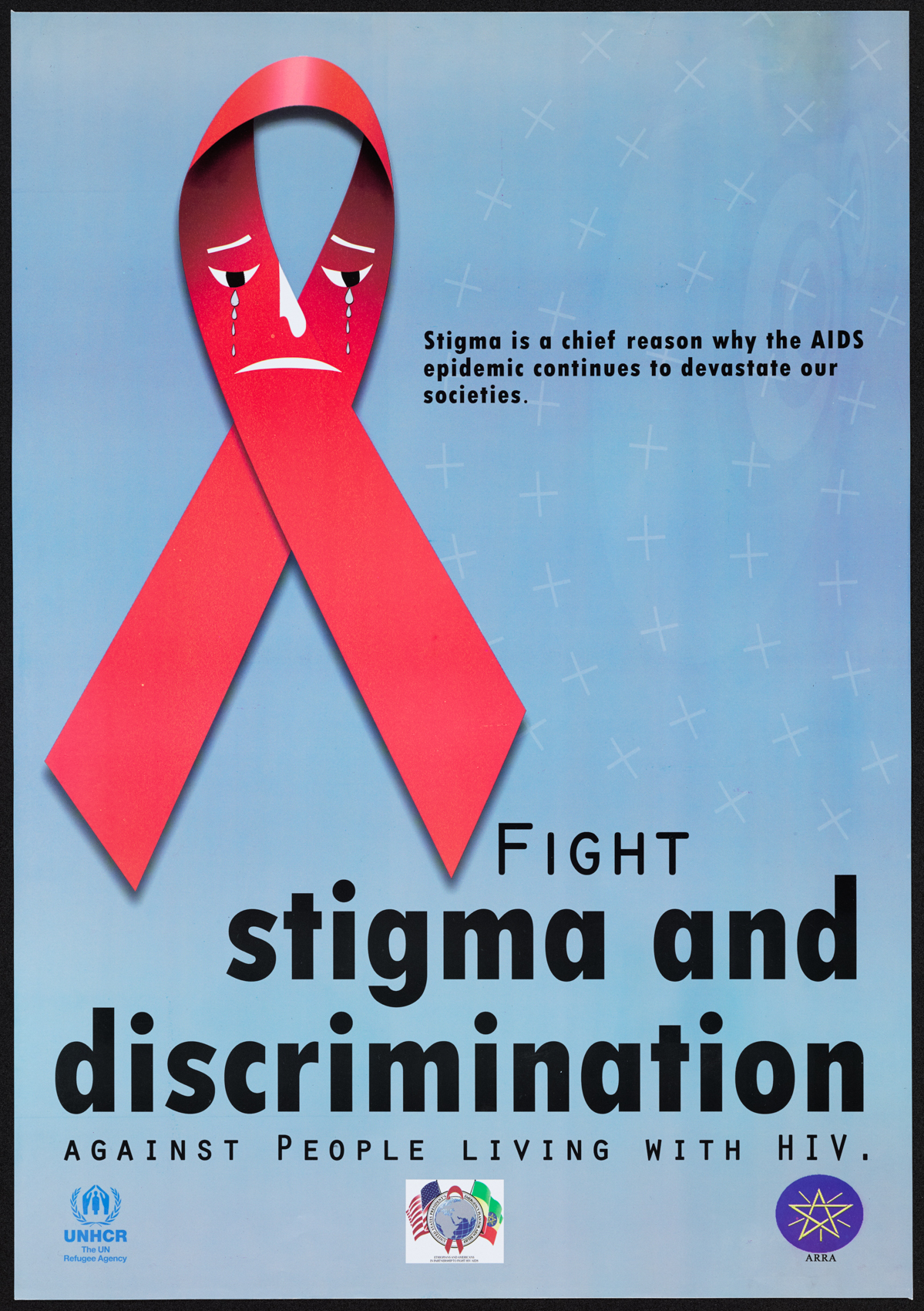 stigma of hiv aids The combination of external stigma and internal oppression of the self may impose a heavy burden in our experience of working with people with hiv in africa, the result of this burden is often a downward spiral marked by fatalism, self-loathing, and isolation from others.