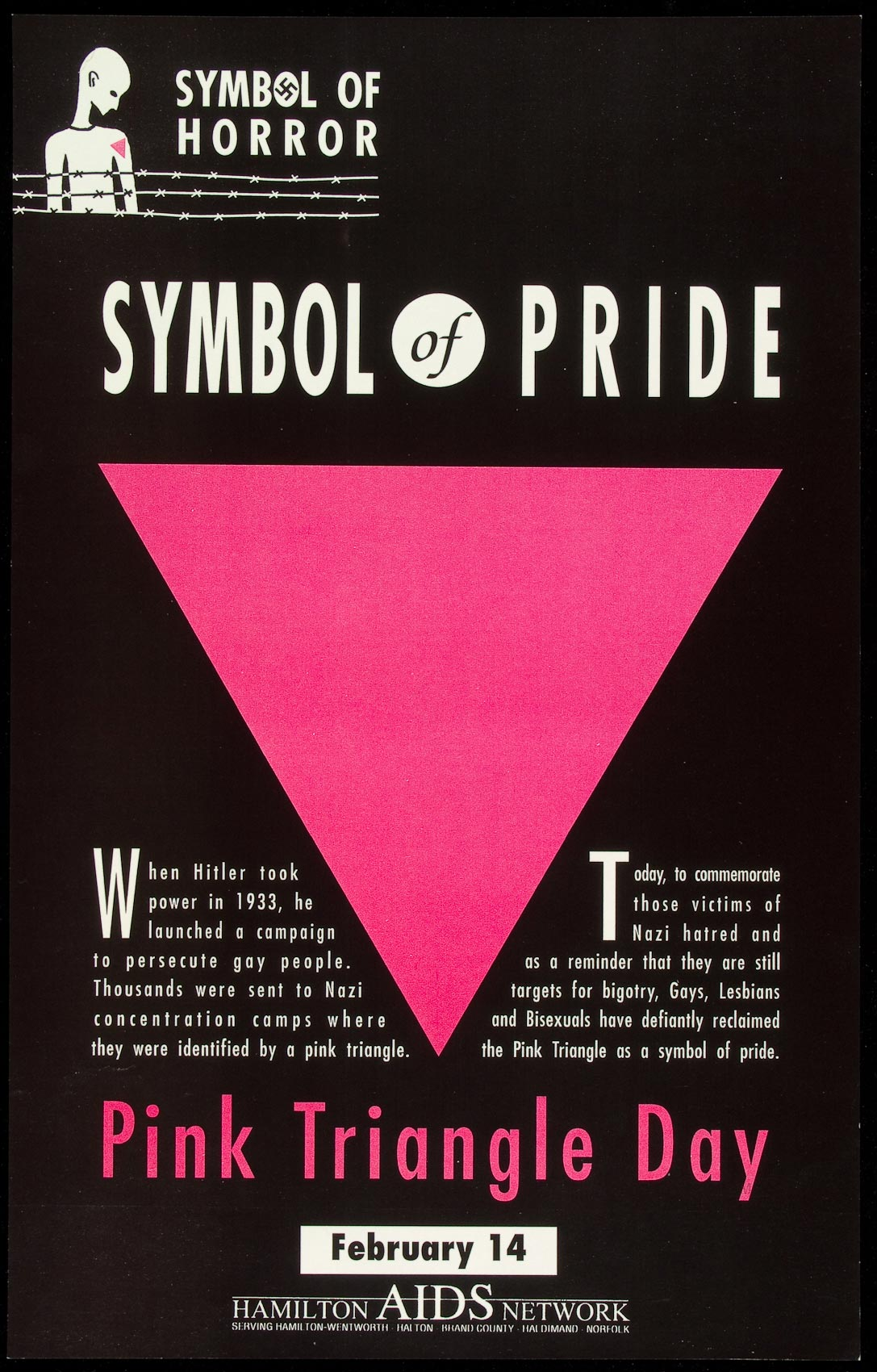 Symbol of horror symbol of pride pink triangle day river poster of symbol of horror symbol of pride pink triangle day buycottarizona
