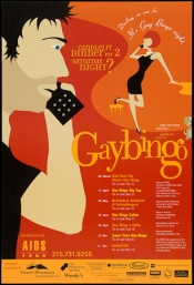Poster of Candlelit dinner for 2 Saturday night? Darllng, no can do. It's Gay bingo night.