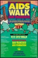 Poster of 10th Annual AIDS Walk San Francisco