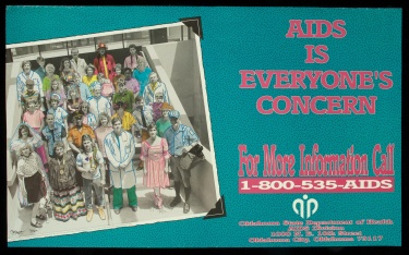Poster of AIDS is everyone's concern