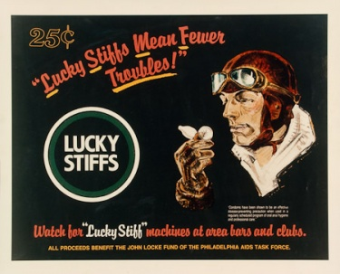 Poster of Lucky stiffs mean fewer troubles!