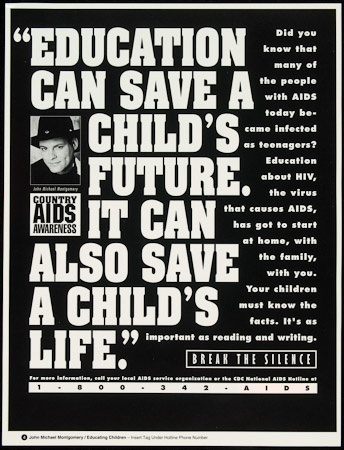 Poster of Education can save a child's future. It can also save a child's life