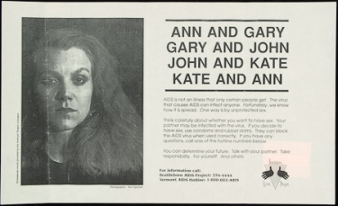 Poster of Ann and Gary. Gary and John. John and Kate. Kate and Ann.
