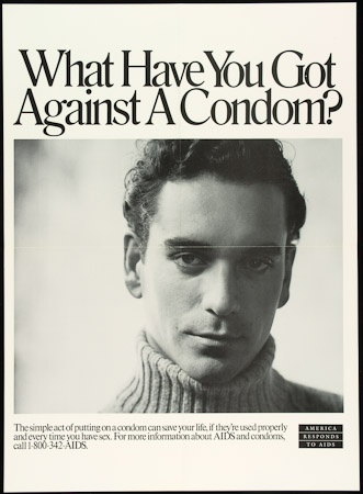 Poster of What have you got against a condom?