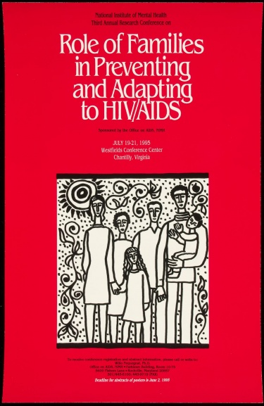 Poster of Role of Families in Preventing and Adapting to HIV/AIDS
