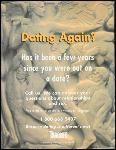 Poster of Dating again? Has it been a few years since you were out on a date?