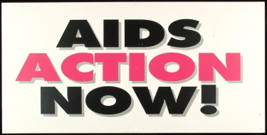 Poster of AIDS ACTION NOW!