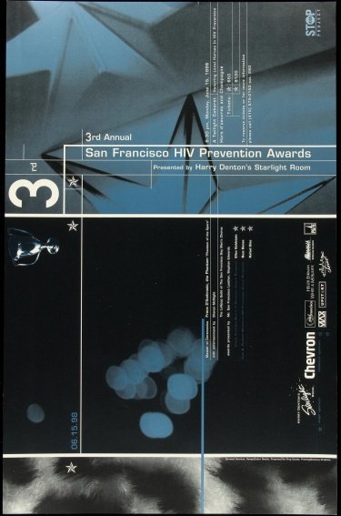 Poster of 3rd Annual San Francisco HIV Prevention Awards.