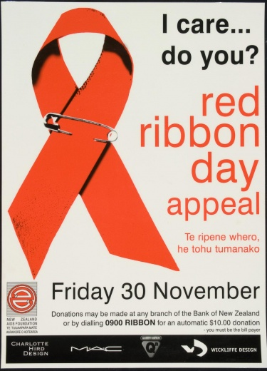 Poster of Red ribbon day appeal