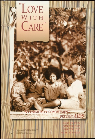 Poster of Love with care.