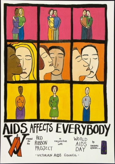 Poster of AIDS affects everybody