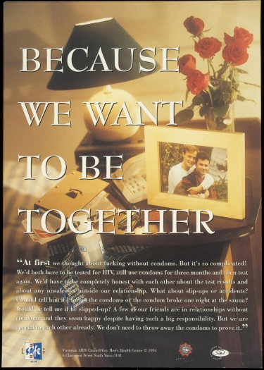 Poster of Because we want to be together