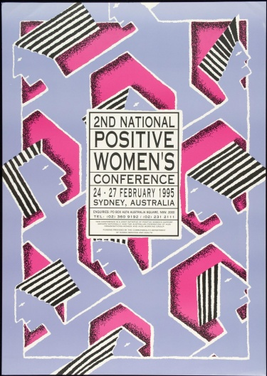 Poster of 2nd National Positive Women's Conference