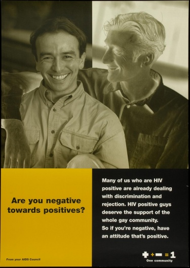 Poster of Are you negative toward positives?