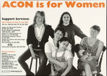 Poster of ACON is for women