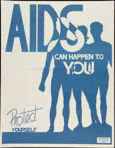 Poster of AIDS can happen to you
