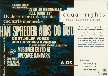 Poster of Equal rights, equal responsibilities.