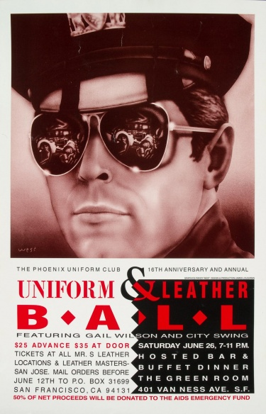 Poster of Phoenix Uniform Club 16th Anniversary and Annual Uniform & Leather Ball