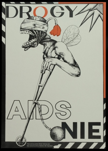 Poster of Drogy AIDS Nie.