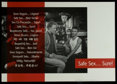 Poster of Safe sex...Sure!