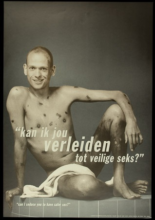 Poster of Kan ik jou verleiden tot veilige seks? Can I seduce you to have safer sex?
