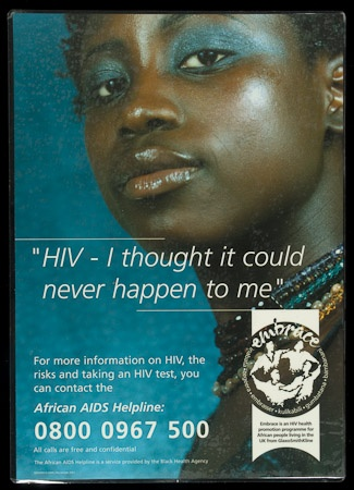 Poster of HIV - I thought it could never happen to me.