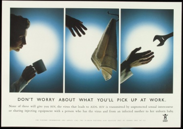 Poster of Don't worry about what you'll pick up at work.