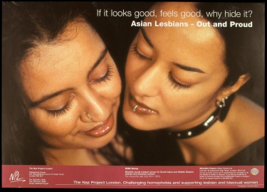 Poster of If it looks good, feels good, why hide it? Asian lesbians - out and proud