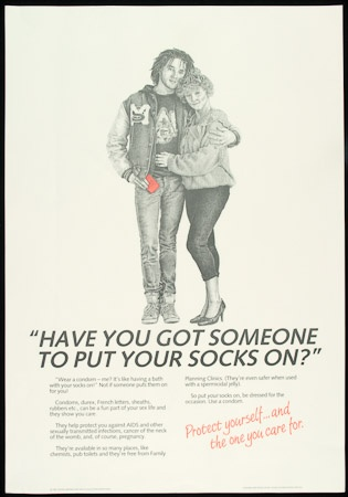 Poster of Have you got someone to put your socks on?
