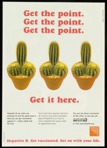 Poster of Get the point.