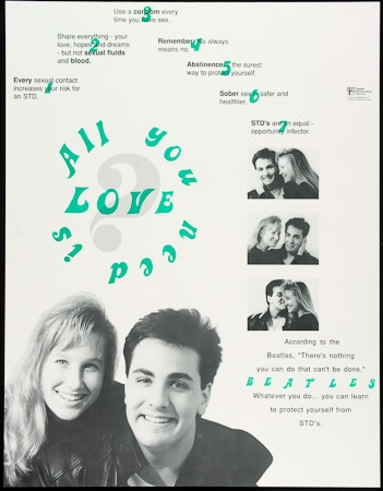 Poster of All you need is love.