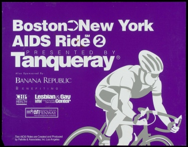Poster of Boston-New York AIDS RIDE 2